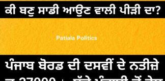 27000 students fail in Punjabi in PSEB 10th result 2018